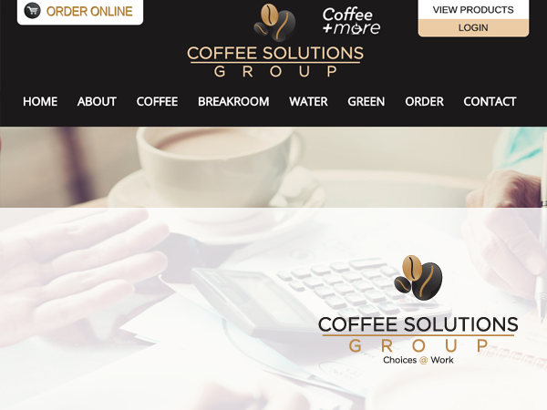 Coffee Solutions Group Content Site