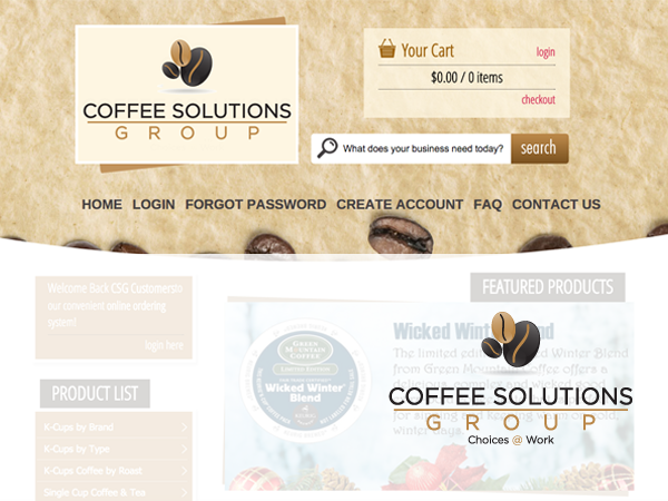 Coffee Solutions Group