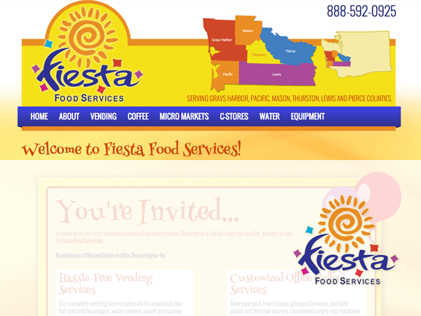 Fiesta Food Services Content Site