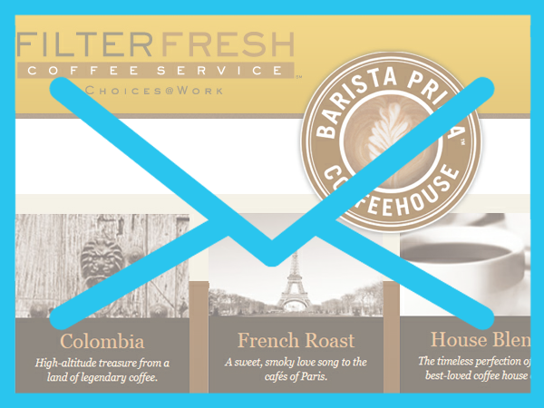 Filterfresh Barista Prima K-Cups Release Email