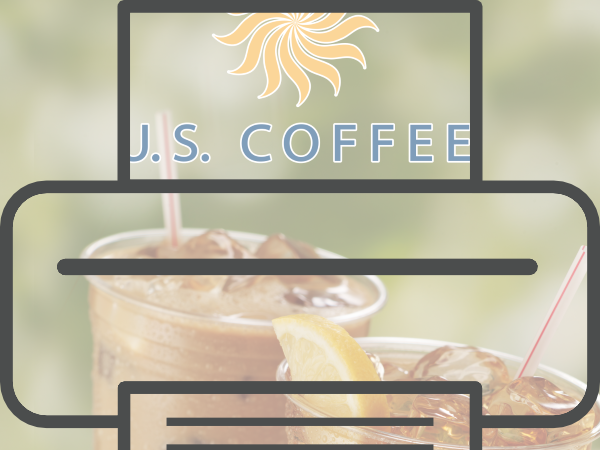 US Coffee Summer Refreshments Poster