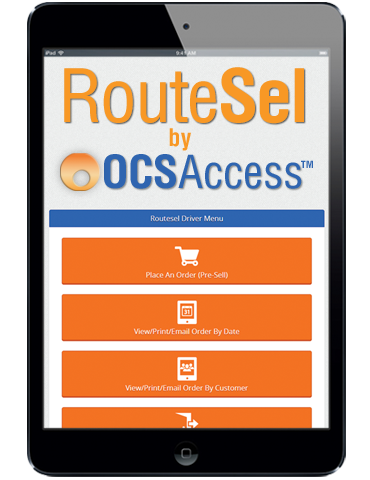 OCS Access RouteSel